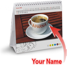 Personalised Name Calendar