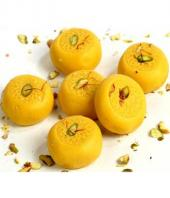 Kesar Peda  1/2 Kg Gifts toLalbagh, mithai to Lalbagh same day delivery
