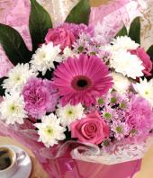 Mixed Bouquet Gifts toHBR Layout, flowers to HBR Layout same day delivery