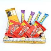 Lip Smacking Choco Treat Gifts toAmbad, Chocolate to Ambad same day delivery