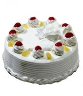 Pineapple Cake 1kg Gifts toHAL, cake to HAL same day delivery