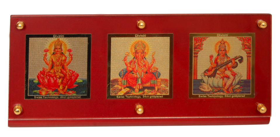 3 in One Deity Photo Frame
