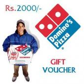 Dominos Gift Voucher 2000 Gifts toAmbad, Gifts to Ambad same day delivery