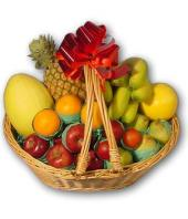 Fruit Basket 4 kgs Gifts toBenson Town, fresh fruit to Benson Town same day delivery