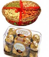 Sweet Nutty Magic Gifts toPort Blair, combo to Port Blair same day delivery