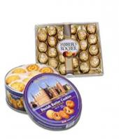 Choco and Biscuits Hamper Gifts toRMV Extension, combo to RMV Extension same day delivery