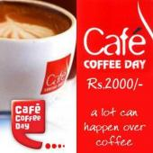 Cafe Coffee Day Gift Voucher 2000 Gifts toAmbad, Gifts to Ambad same day delivery