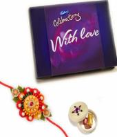 Celebrations Rakhi Gifts toBasavanagudi, flowers and rakhi to Basavanagudi same day delivery