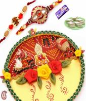 Sisters Love Gifts toAmbad, flowers and rakhi to Ambad same day delivery