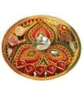 Pooja Thali Gifts toAmbad, arthi thali to Ambad same day delivery