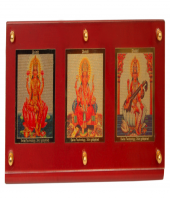 3 in One Deity Photo Frame Gifts toOjhar, diviniti to Ojhar same day delivery