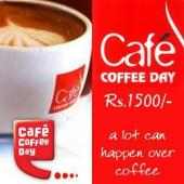 Cafe Coffee Day Gift Voucher 1500 Gifts toAmbad, Gifts to Ambad same day delivery