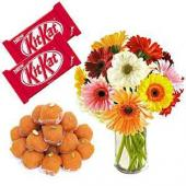 Sweets and Laddoo Hamper Gifts toPort Blair, Chocolate to Port Blair same day delivery
