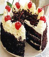 Black forest cake 1kg Gifts toCox Town, cake to Cox Town same day delivery