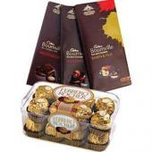 Bournville and Ferrero Gifts toPort Blair, Chocolate to Port Blair same day delivery