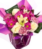 Purple Delight Gifts toAdyar, Flowers to Adyar same day delivery