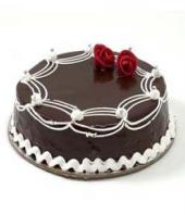 Chocolate cake small Gifts toCox Town, cake to Cox Town same day delivery
