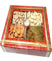 Mixed Dry Fruits 1kg Gifts toAmbad, Dry fruits to Ambad same day delivery