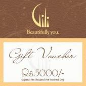 Gili Gift Voucher 5000 Gifts toAmbad, Gifts to Ambad same day delivery