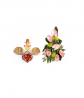 Divine Diya Set Diwali and Fantasia Gifts toAmbad, Combinations to Ambad same day delivery