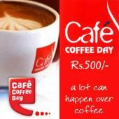 Cafe Coffee Day Gift Voucher 500 Gifts toAmbad, Gifts to Ambad same day delivery