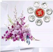 Floating Wishes and Exotic Charm Gifts toOjhar, Combinations to Ojhar same day delivery
