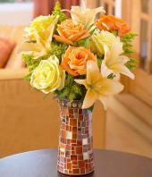 Autumn Bliss Gifts toPuruswalkam, sparsh flowers to Puruswalkam same day delivery