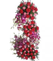 Tower of Love Gifts toAmbad, sparsh flowers to Ambad same day delivery
