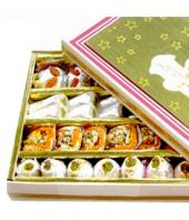 Kaju Assorted sweets  1 kg Gifts toAgram, vday to Agram same day delivery