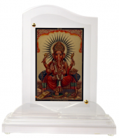 Ganesha Acrylic Frame Gifts toHyderabad, diviniti to Hyderabad same day delivery