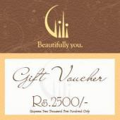 Gili Gift Voucher 2500 Gifts toAmbad, Gifts to Ambad same day delivery