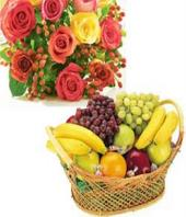 Fruit and Flowers Gifts toAmbad, combo to Ambad same day delivery