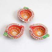 Beautiful Deepavali Diyas Gifts toAmbad, Diya Set to Ambad same day delivery