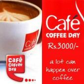 Cafe Coffee Day Gift Voucher 3000 Gifts toAmbad, Gifts to Ambad same day delivery